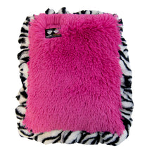Crate Pad - Lollipop and Zebra with Zebra Ruffle