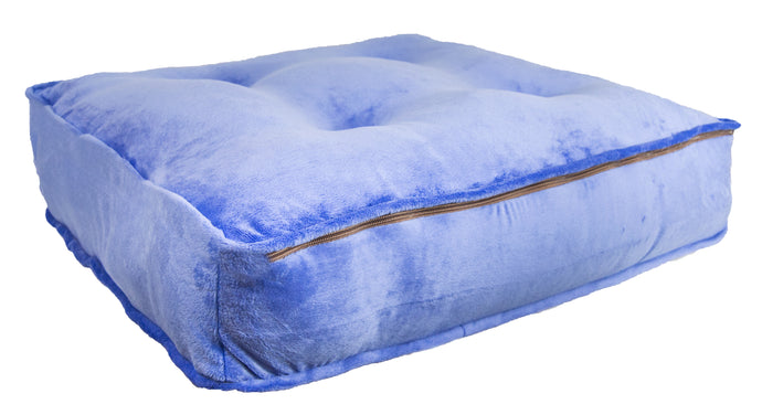 Sicilian Rectangle Bed -Periwinkle