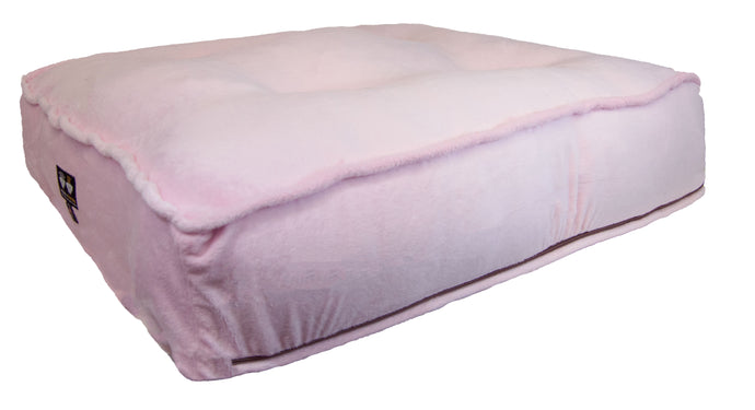 Sicilian Rectangle Bed - Pink Lotus