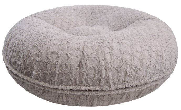 Bagel Bed - Serenity Grey