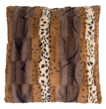 Home Collection Pillow Wild Kingdom and Godiva Brown