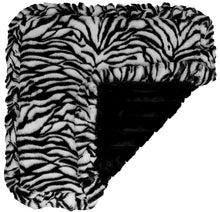 Blanket - Zebra and Black Puma
