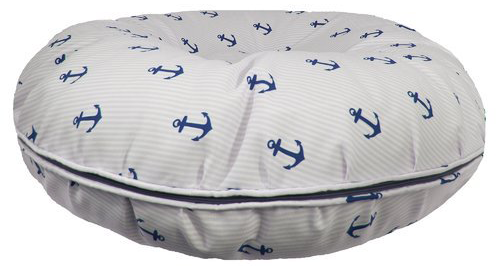 Outdoor Bed - Navy Anchor