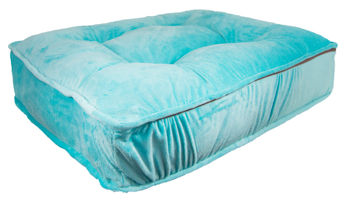 Sicilian Rectangle Bed - Aqua Marine