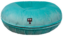 Bagel Bed - Aqua Marine