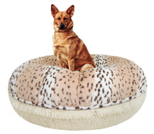 Bagel Bed - Aspen Snow Leopard and  Blondie