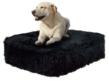 Sicilian Rectangle Bed - Black Bear