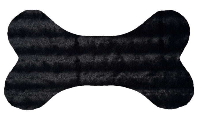 Bone Pillow - Black Puma