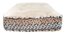 Sicilian Rectangle Bed - Blondie and Aspen Snow Leopard