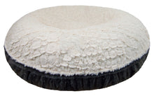Bagel Bed -  Gravel Stone and Serenity Ivory