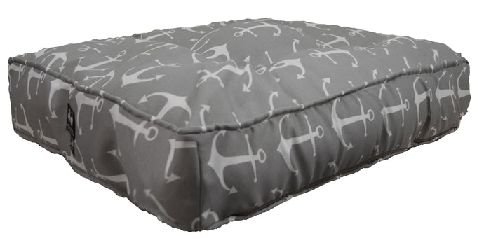 Outdoor Rectangle Bed - Grey Anchor