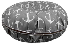 Outdoor Bed - Grey Anchor