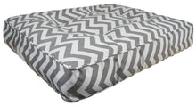 Outdoor Rectangle Bed - Grey Wave