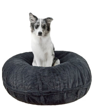 Bagel Bed - Short Shag Mystic Grey