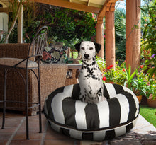 Outdoor Bed - Panda Stripes