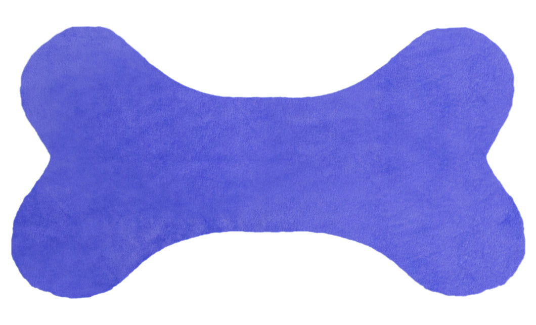 Bone Pillow - Periwinkle