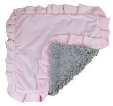 Blanket - Pink Lotus and Siberian Grey