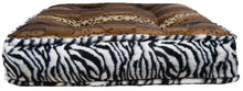 Sicilian Rectangle Bed - Zebra and Wild Kingdom