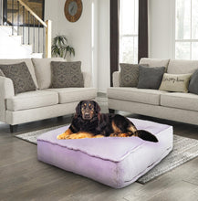 Sicilian Rectangle Bed - Lilac