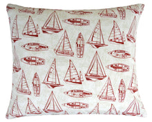 Bubba Bed - Red Sailboat