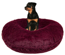 Bagel Bed -  Rosewood