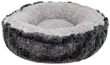 Bagelette Bed - Arctic Seal and Serenity Grey