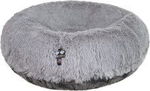 Bagel Bed - Siberian Grey and Arctic Seal