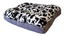 Sicilian Rectangle Bed- Spotted Pony and Serenity Grey
