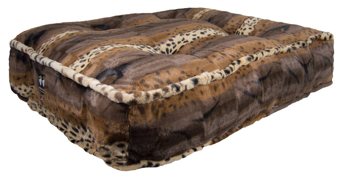Sicilian Rectangle Bed - Wild Kingdom