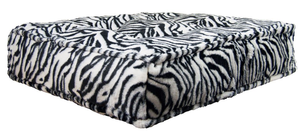 Sicilian Rectangle Bed - Zebra