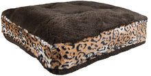 Sicilian Rectangle Bed - Grizzly Bear and Chepard