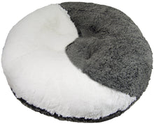 Yin-Yang Bagel Bed- Snow White and Midnight Frost