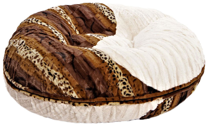 Yin-Yang Bagel Bed- Wild Kingdom and Natural Beauty