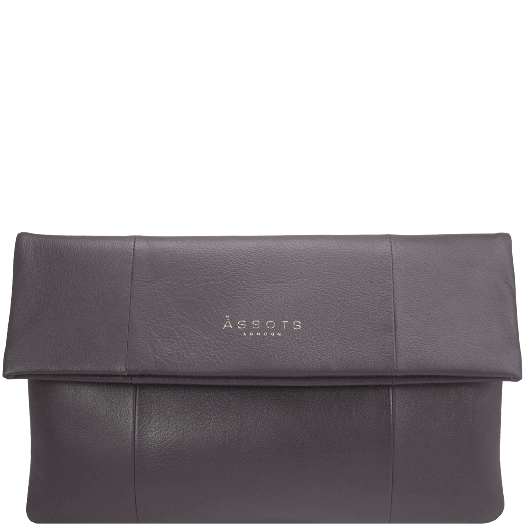'CHELSEA' - Burgundy Vintage Leather Flap-over Sling Bag