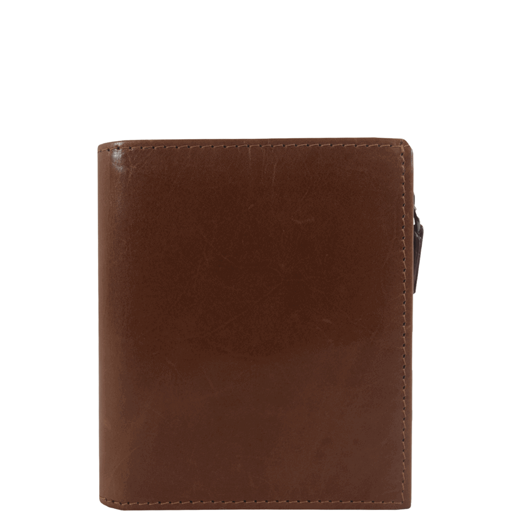 'CADE' - Tan Vintage Leather Wallet