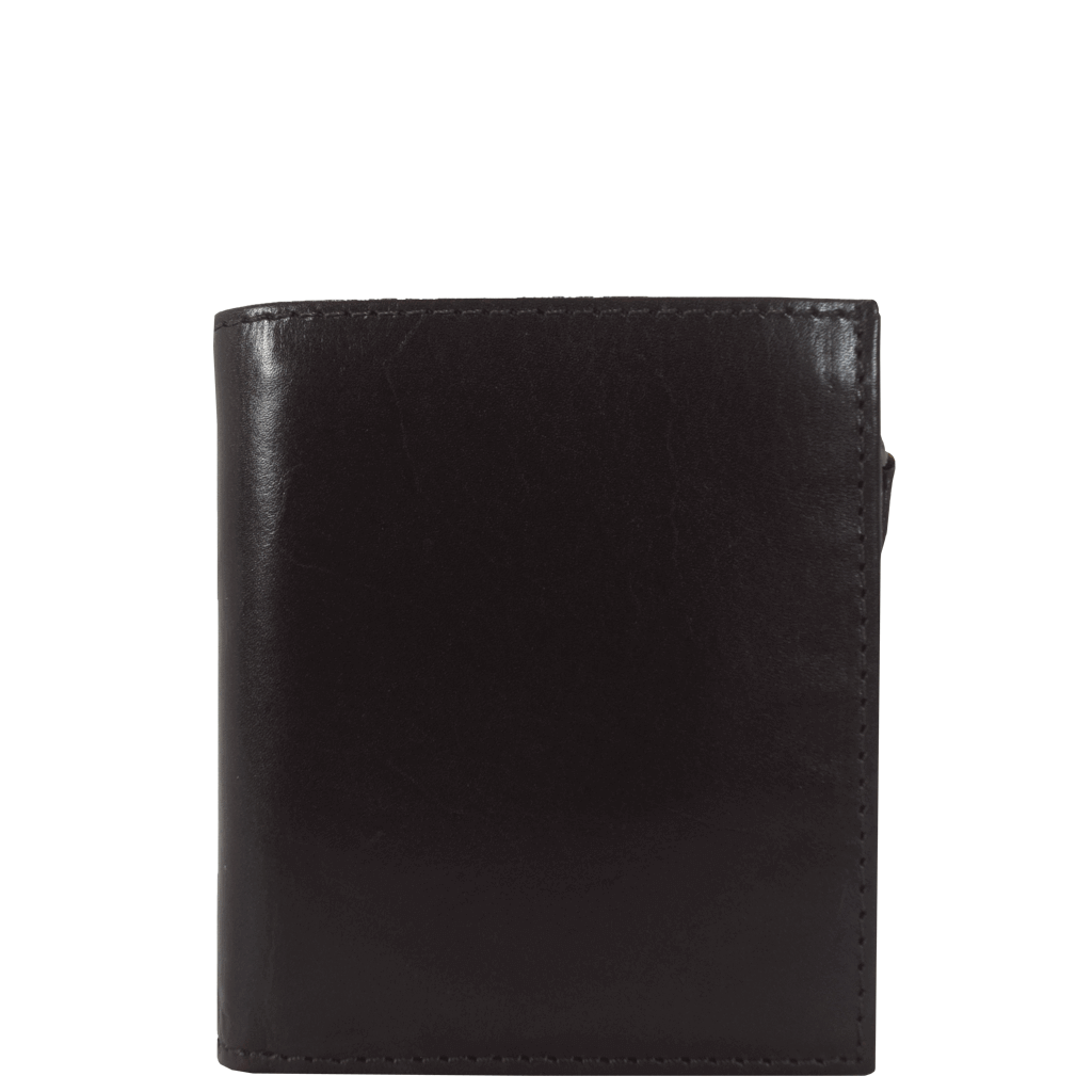 'CADE' - Dark Brown Vintage Leather Wallet