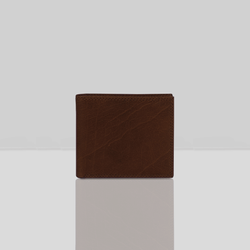 'DOUGLAS' Cognac Trifold Vintage Leather RFID Blocking Wallet