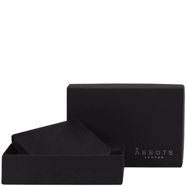 'DOUGLAS' Black Trifold Vintage Leather RFID Blocking Wallet