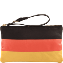 'GERMAN' - Country Flag Designer Leather Clutch Purse
