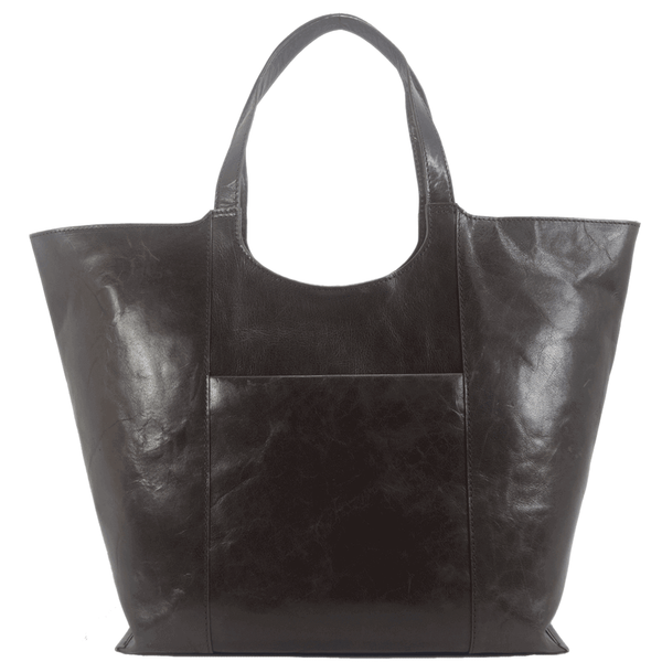 'REGENT' - Brown Vintage Vegetable tanned Leather Tote Bag