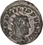 Empire Romain, Philippe Ier l'Arabe, Antoninien, 249, Rome - Avers