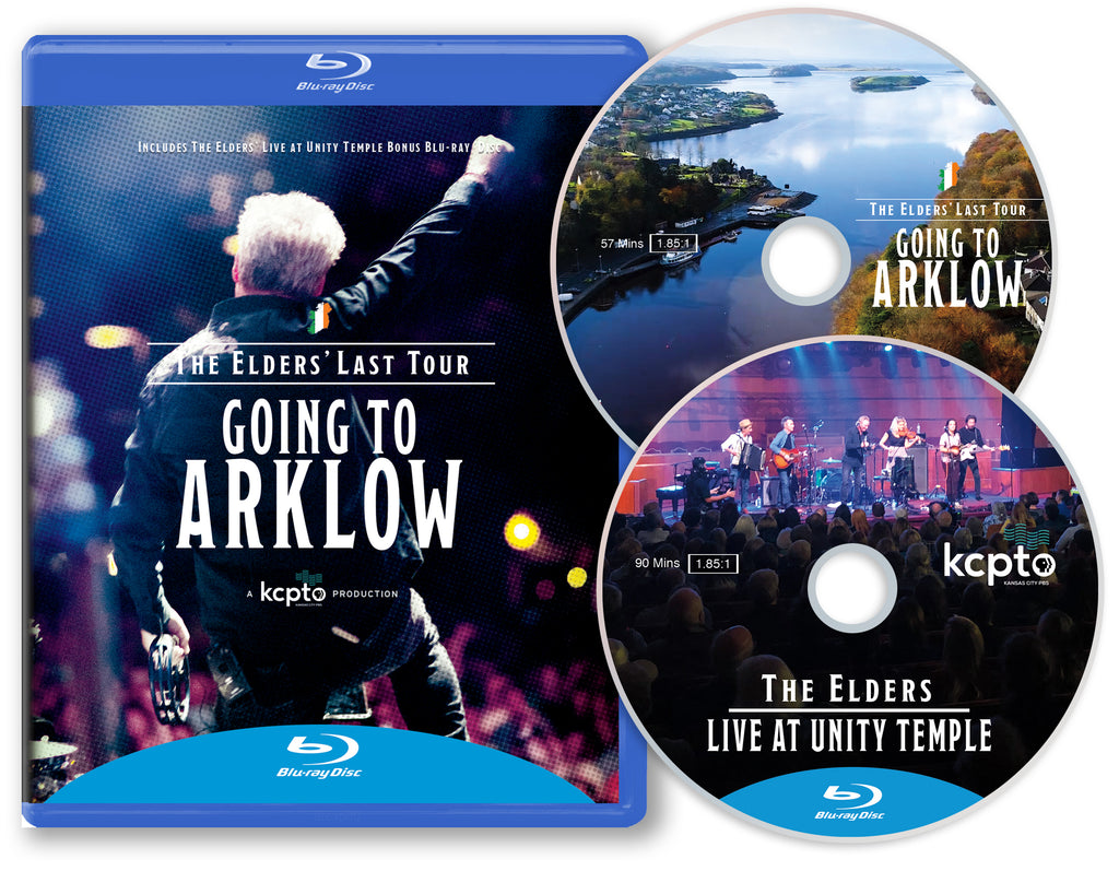 The Elders' Last Tour: Going to Arklow + The Elders Live at Unity Temple BluRay Set