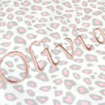 Personalised Pink Double Sided Blanket