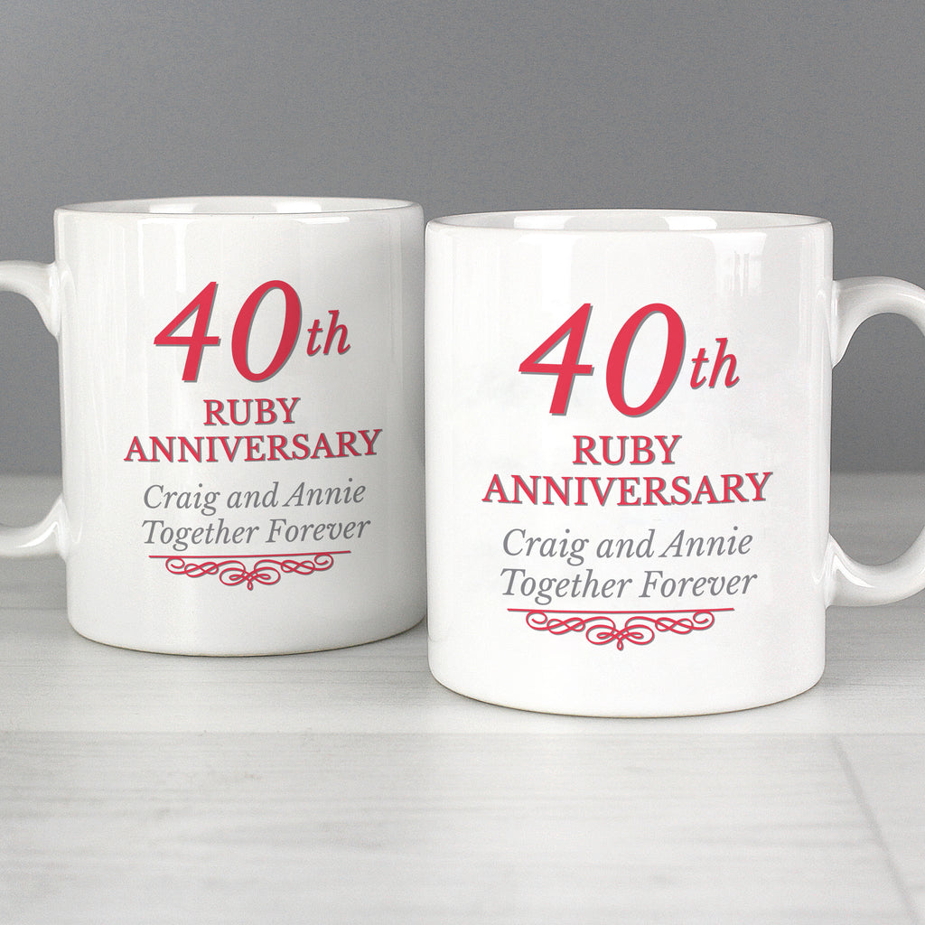 40th wedding anniversary gift for parents