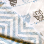 double sided baby blanket for boys