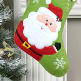 Personalised Santa Christmas Stocking With Pom Poms
