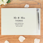 Personalised Classic Guest Book & Pen-Dcaro Personalised Gifts