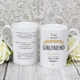Personalised I Am Glad... Slim Mug-Dcaro Personalised Gifts