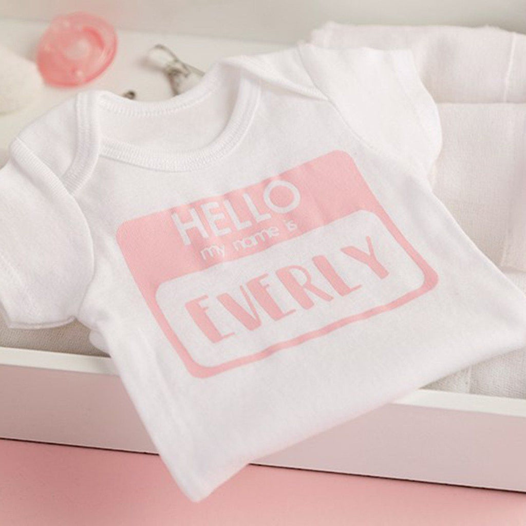 Personalised Newborn Bodysuits