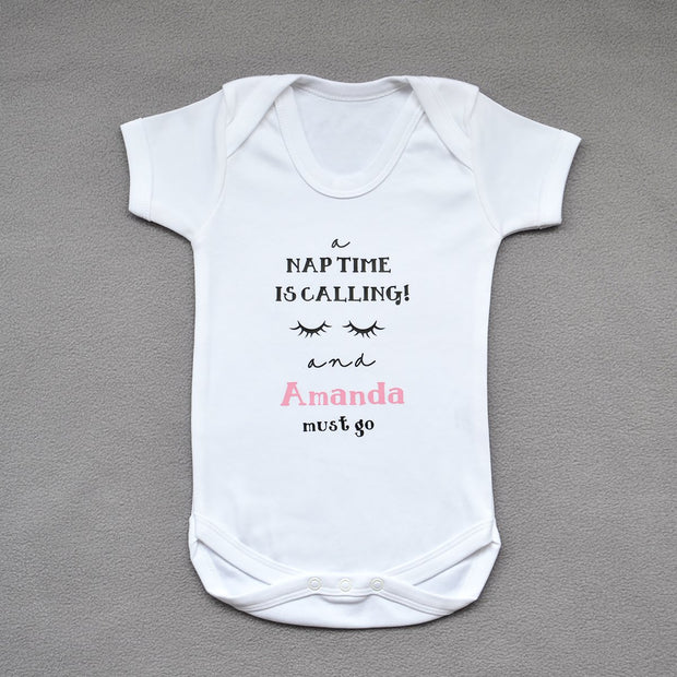 Personalised Nap Time Bodysuit-Dcaro Personalised Gifts